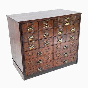 Haberdashery 18 Drawer Storage Cupboard with Shelves