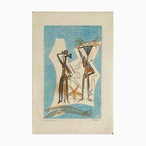 Max Ernst, Etoile De Mer, 1950, Lithographie auf Arches Papier