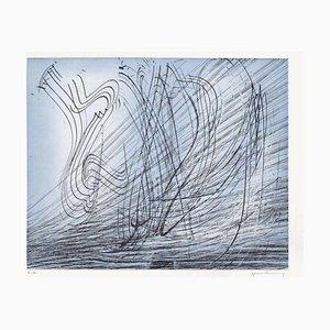 Hans Hartung, Elégie des alizés III, 1978, Radierung auf Arches Papier