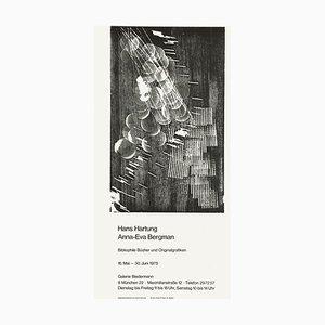 Hans Hartung, Expo 75, Galerie Biedermann, Monaco