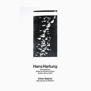 Carta Poster Hans Hartung, Expo 73, 1974