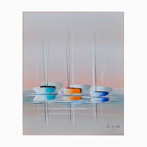 Eric Munsch, Une touche de modernité, 2021, Olio su tela