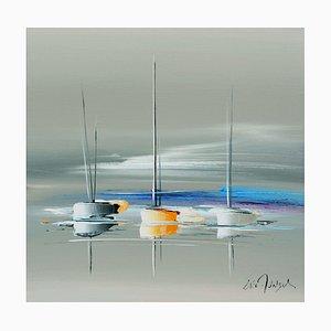 Eric Munsch, Un voyage vers le large, 2021, Oil on Canvas