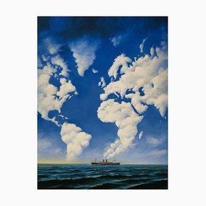 Rafal Olbinski, Tales of Love (Cruise), 2021, Giclée on Paper