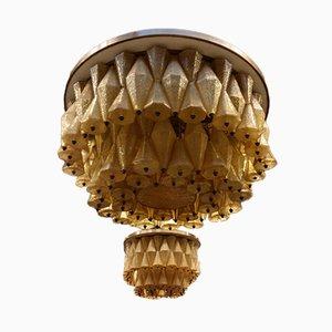 Lámpara de araña de Carlo Scarpa para Venini