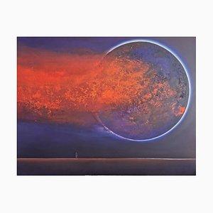 Barbara Hubert, Full Moon, 2021, Oil on Canvas