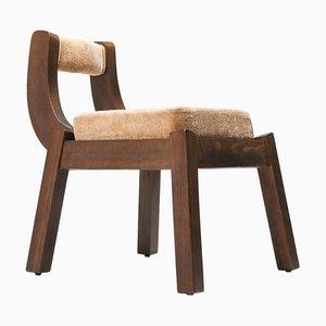 Italian Art Deco Walnut Dining Chair by Osvaldo Borsani, 1950s