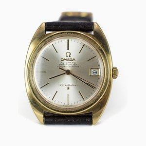 Reloj de pulsera automático Constellation vintage con fecha de Omega, años 60
