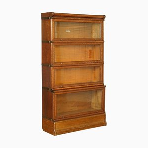 Antique Oak Bookcase from Globe Wernicke, 1920s
