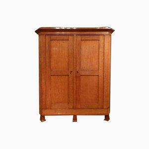 Biedermeier Oak Cabinet, 1830