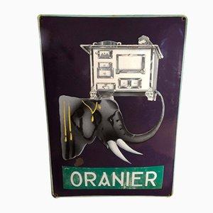 Oranier Ofen/Herd Sign, 1900s
