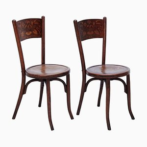 Chairs in the Style of Thonet from Codina, 1900s, Set of 2