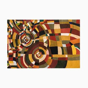 Großes Gemälde nach Sonia Delaunay