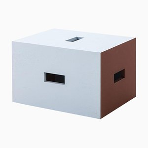 Lc14 Nantes Reze Holzhocker von Le Corbusier für Cassina