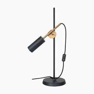 Schwarze Stav Tischlampe von Johan Carpner für Konsthantverk