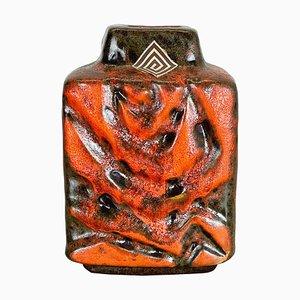 WGP Fat Lava Ceramic Pottery Vase by Carstens Tönnieshof, Germany, 1970s