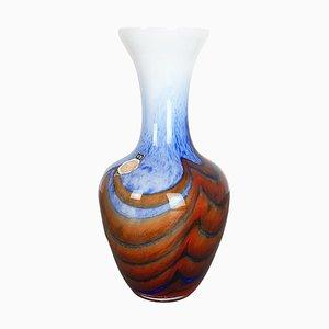 Large Vintage Pop Art Opaline Florence Vase