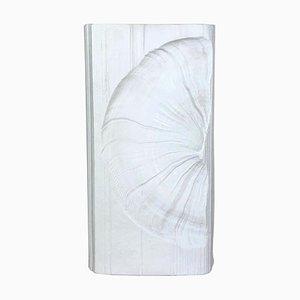Große deutsche Op Art Vase Porzellan Vase von Martin Freyer für Rosenthal