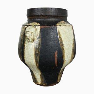 Abstrakte Keramik Studio Vase von Gerhard Liebenthron, 1970er