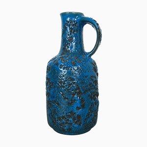 Bunte Fat Lava Keramikvase von Gräflich Ortenburg, 1950er