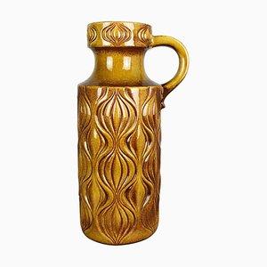 Große mehrfarbige Fat Lava 485-45 Onion Vase aus Keramik von Scheurich, 1970er