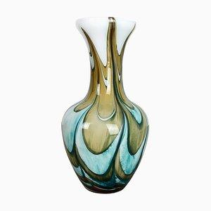 Extra Large Pop Art Opaline Florence Vase, Italy, 1970s