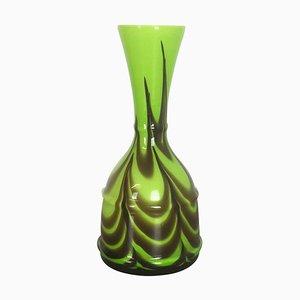 Italienische Opalglas Florence Vase von Carlo Moretti, 1970er