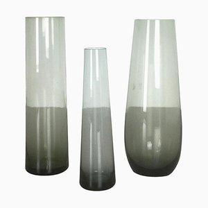 Vintage Turmalin Series Vases by Wilhelm Wagenfeld for WMF, Germany, 1960s, Set of 3
