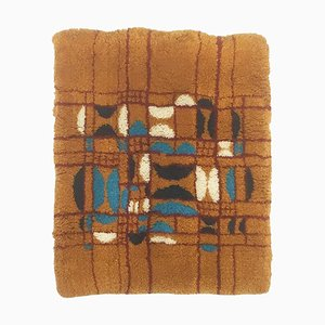Modernist Cotton & Wool Wall Rug, Germany, 1970s