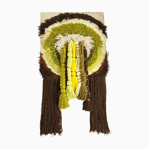 Extra Large Modernist Macrame Wall Hanging from Desso Studio, Netherlands, 1970s