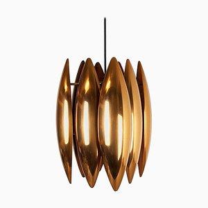 Kastor Pendant Light by Jo Hammerborg for Fog & Mørup, Denmark, 1960s