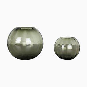 Turmalin Series Ball Vasen von Wilhelm Wagenfeld für WMF, 1960er, 2er Set