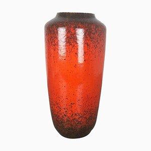 Große mehrfarbige Fat Lava 517-45 Keramikvase von Scheurich, 1970er