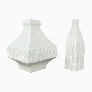 Vase Skulpturen von Peter Müller für Sgrafo Modern, 1960er, 2er Set
