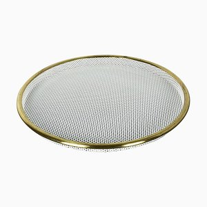 French Metal Tray in the Style of Mathieu Mategot, 1960s