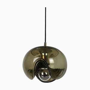 Wave Hanging Light by Koch and Lowy for Peill and Putzler, Germany, 1970s