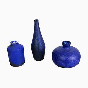 Studio Keramikvasen von Gerhard Liebenthron, Deutschland, 1960er, 3er Set