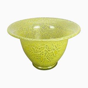 German Glass Vase by Karl Wiedmann for WMF Ikora, 1950s