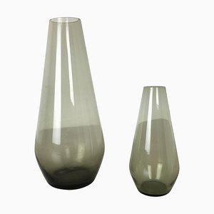 Vintage Turmalin Vasen von Wilhelm Wagenfeld für WMF, 1960er, 2er Set
