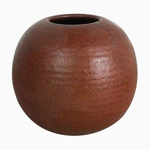 Ceramic Studio Pottery Vase by Piet Knepper for Mobach Netherlands, 1960s