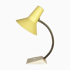 Messing Metall Tischlampe, Deutschland, 1960er