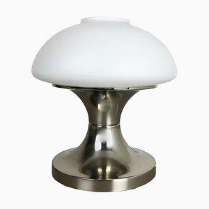 Mushroom Sputnik Tischlampe mit Opalschirm, Italien, 1970er