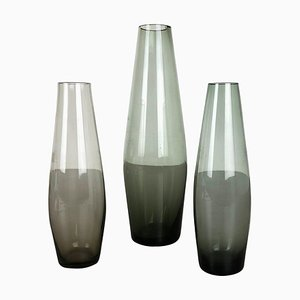 Turmalin Vases by Wilhelm Wagenfeld for WMF, Germany, 1960s, Set of 3