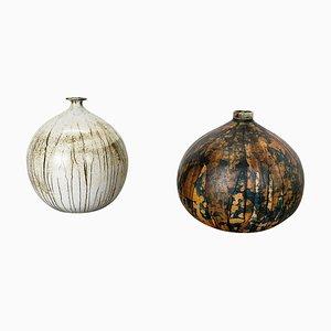 Ceramic Vases by Gerhard Liebenthron, Germany, 1970s, Set of 2