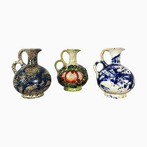 Vasi in ceramica di Marei, Germania, anni '70, set di 3