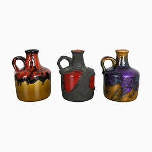 Ceramic Vases from Marei, Germany, 1970s, Set of 3