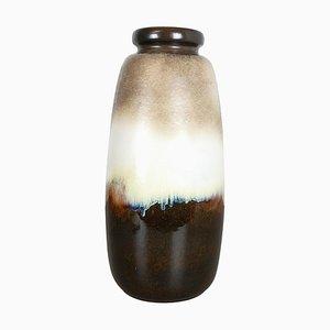 Große mehrfarbige Fat Lava Keramik 284-47 Bodenvase von Scheurich, 1970er