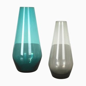 Vases Série Turmalin par Wilhelm Wagenfeld pour WMF, Allemagne, 1960s, Set de 2