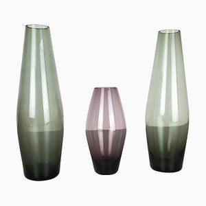 Turmalin Series Vases by Wilhelm Wagenfeld for WMF, Germany, 1960s, Set of 3