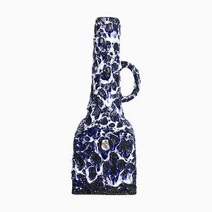 Fat Lava Ceramic Vase from ES Keramik, Germany, 1960s